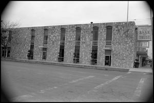 Primary view of object titled '[Photograph of the Security State Bank and Trust]'.