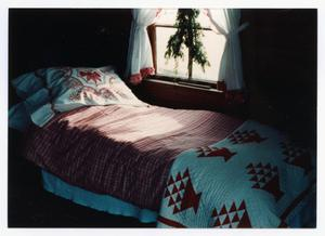 [Photograph of Bed in the Pioneer Museum]