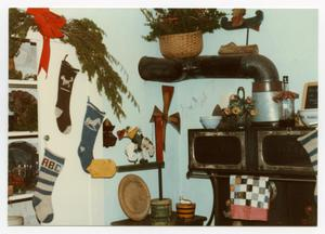 [Photograph of Christmas Decorations in the Pioneer Museum]