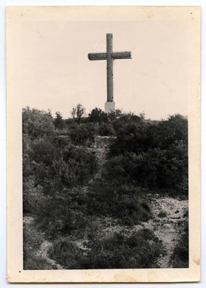 Primary view of object titled '[Cross on Cross Mountain]'.