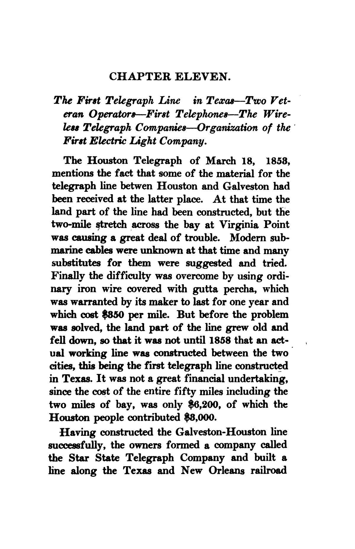 A thumb-nail history of the city of Houston, Texas, from its founding in 1836 to the year 1912                                                                                                      170