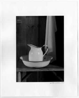 Primary view of object titled '[Photographic Print of a Pitcher]'.