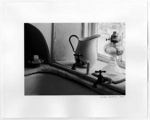 Primary view of object titled '[Photographic Print of a Pitcher by a Window]'.