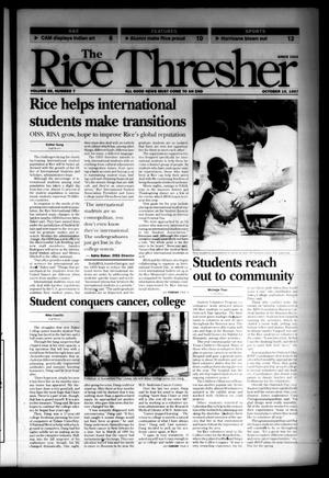 The Rice Thresher (Houston, Tex.), Vol. 85, No. 7, Ed. 1 Friday, October 10, 1997