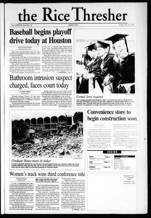 The Rice Thresher (Houston, Tex.), Vol. 87, No. 26, Ed. 1 Friday, May 26, 2000