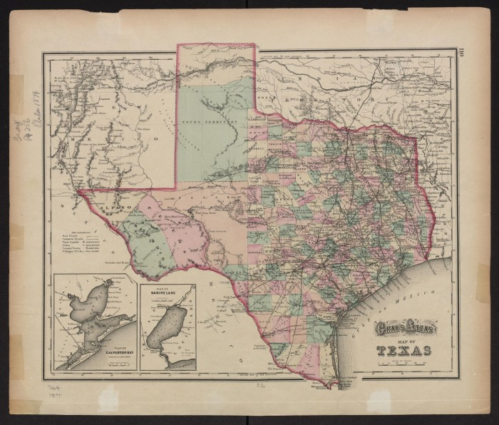 Grays atlas map of texas the portal to texas history descriptionbookmark this section gumiabroncs Image collections