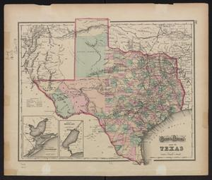Primary view of object titled 'Gray's atlas map of Texas.'.