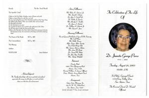 funeral pamphlet