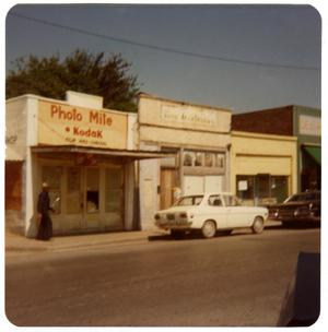 Primary view of object titled '[Business Stores - South Main Street]'.