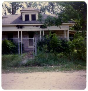 Primary view of object titled '[Moody House - Las Vacas Street]'.