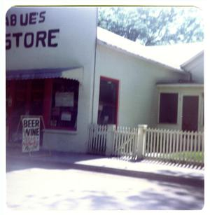Primary view of object titled '[Tagliabue Store - 609 Pecan Street]'.