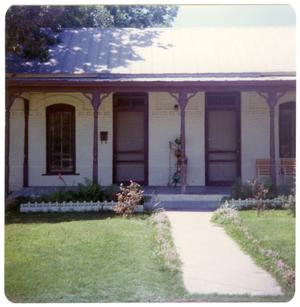 Primary view of object titled '[Railroad House - 112 East Martin Street]'.
