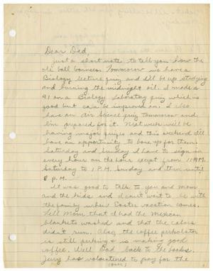 [Letter from Douglas M. Herrera to John J. Herrera]