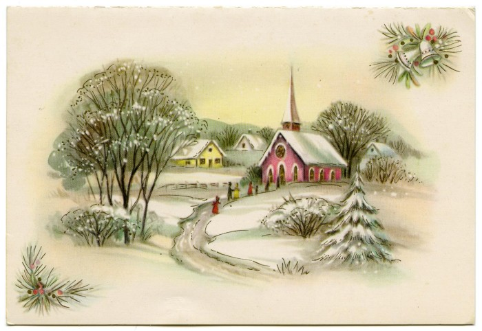 primary view of object titled christmas card from carmen anita december 15