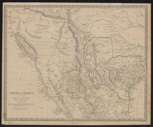 Primary view of object titled 'Central America. II. Including Texas, California, and the northern states of Mexico'.