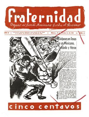 Primary view of object titled 'Fraternidad, Volume 2, Number 17'.