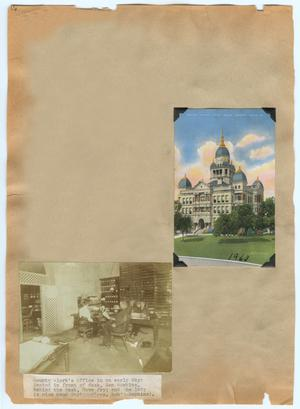 Primary view of object titled '[Denton County Court House and County Clerk's Office]'.