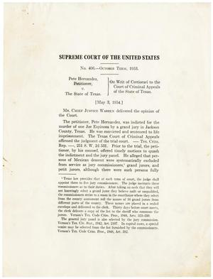 Primary view of object titled '[Judgement against the State of Texas]'.