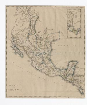 Primary view of Mexico or New Spain.