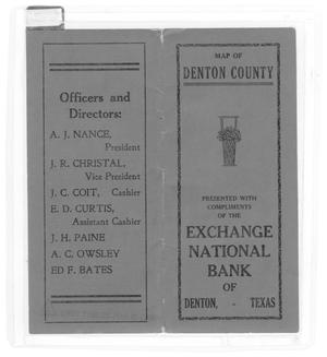 Primary view of object titled 'Exchange National Bank of Denton, Texas'.