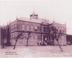 Primary view of object titled 'West Ward School Mineral Wells, Texas'.