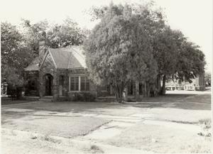 Primary view of object titled '[The Calvary Baptist Parsonage 1975]'.