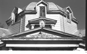 Primary view of object titled '[First Presbyterian Church -7 of 13:   Dome Detail]'.