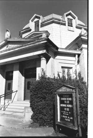 [First Presbyterian Church - 3 of 13:   Front Entrance and Dome]