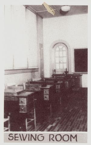 Primary view of object titled 'Sewing Room'.