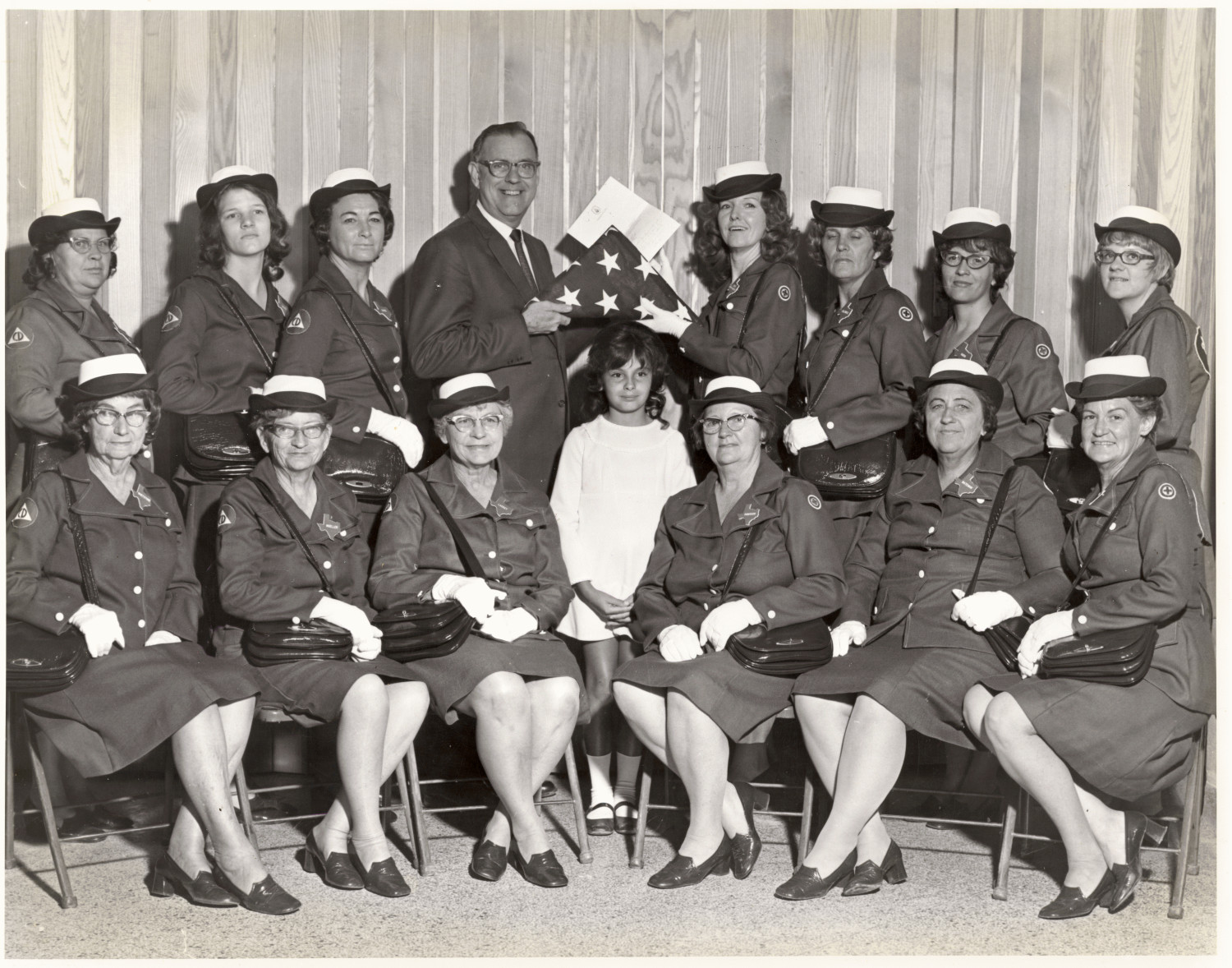 [The Women's Corps, Palo Pinto County Civil Defense]                                                                                                      [Sequence #]: 1 of 1