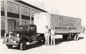 Primary view of object titled 'Crazy Paper Box Company'.