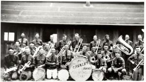 Primary view of object titled 'The 112th Cavalry Band, Mineral Wells, Texas'.