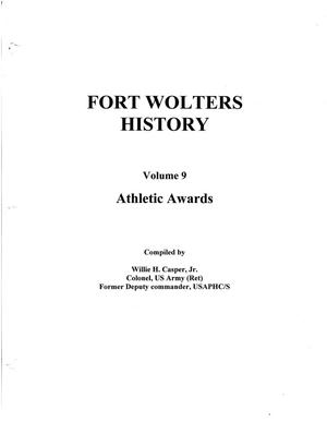 Primary view of object titled 'Pictorial History of Fort Wolters, Volume 9: Athletic Awards'.