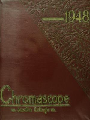 Primary view of object titled 'The Chromascope, Volume 48, 1948'.