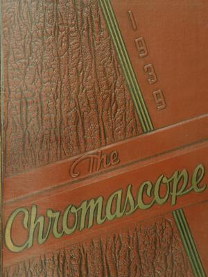 Primary view of object titled 'The Chromascope, Volume 39, 1939'.