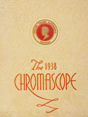 Primary view of object titled 'The Chromascope, Volume 38, 1938'.