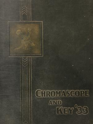 Primary view of object titled 'The Chromascope and Key, Volume 33, 1933'.