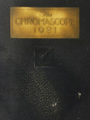 Primary view of object titled 'The Chromascope, Volume 21, 1921'.