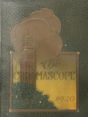 Primary view of object titled 'The Chromascope, Volume 20, 1920'.