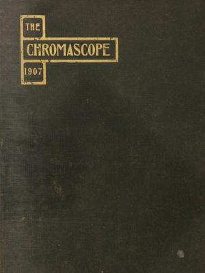 Primary view of object titled 'The Chromascope, Volume 8, 1907'.