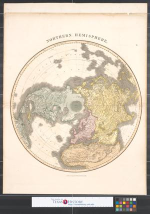 Primary view of Northern Hemisphere.