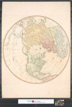 Primary view of Northern Hemisphere.