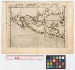 Primary view of Nueva Hispania tabula nova.
