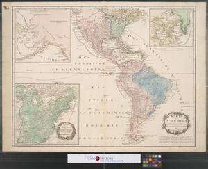 Primary view of Karte von Amerika: nach D'Anville und Pownall: neu verzeichnet.
