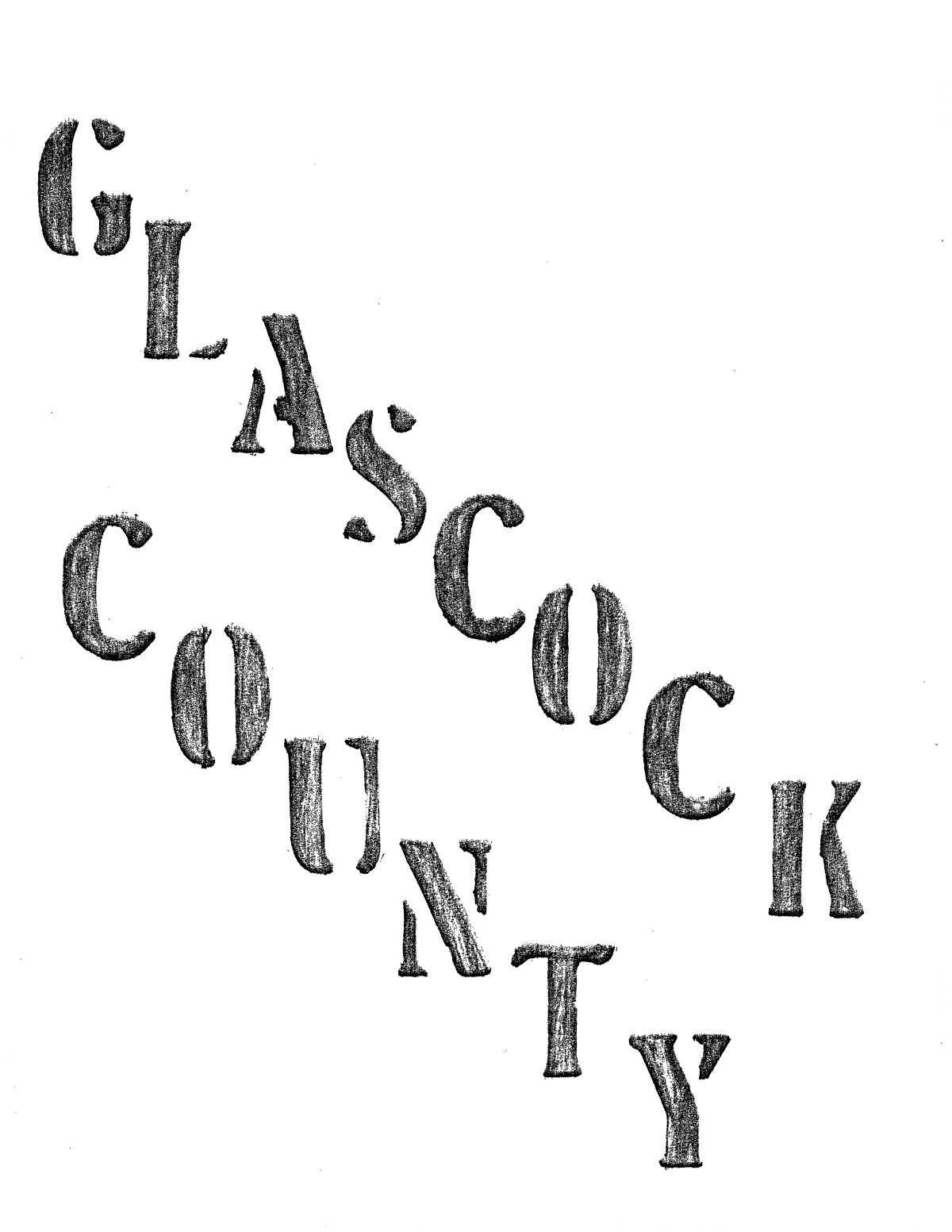 Glasscock County Cemeteries, 1890 - 1992                                                                                                      Front Cover
