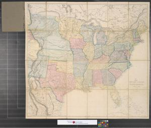 Primary view of object titled 'United States of North America (Eastern and Central).'.