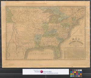 Primary view of object titled 'Map of the United States : compiled from the latest authorities.'.