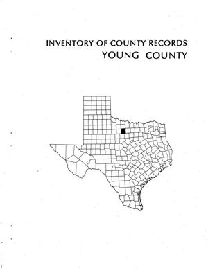 Primary view of object titled 'Inventory of county records, Young County courthouse, Graham, Texas'.