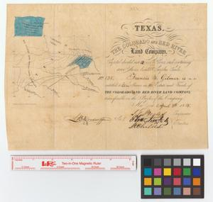 Primary view of object titled 'Colorado and Red River Land Company [maps].'.