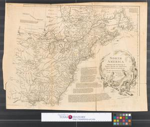 Primary view of North America : Performed under the patronage of Louis Duke of Orleans, First Prince of the Blood [Sheet 1].